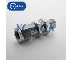 3/4 NPT Bulkhead Male Coupling Fitting