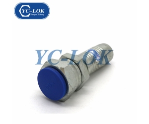 Can be customized 22612 spiral hose hydraulic hose fitting