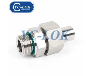 Car Parts 304 Stainless Steel Quick 1 Inch Male Union Coupling For Automotive