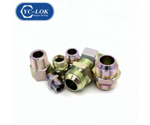 Carbon Steel BSP ORFS JIC Hydraulic Adapter