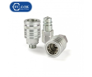 Carbon Steel Hydraulic Quick Coupling in ISO7241