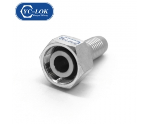 Carbon steel/Stainless steel hydraulic fittings good quality hydraulic hose ferrules