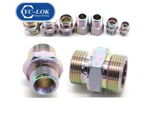 China supplier CNC manufacturing male hydraulic nipple