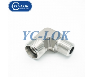 Chinese OEM 90 degrees elbow BSPT thread male fittings