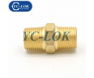 Chinese factory brass NPT male tube adapter compression fittings