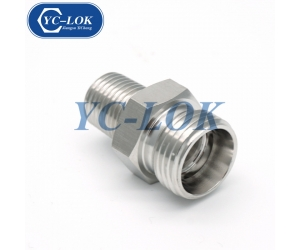 Chinese factory low price NPT male hose fittings