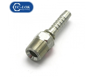 Chinese low price hydraulic fitting with large stock