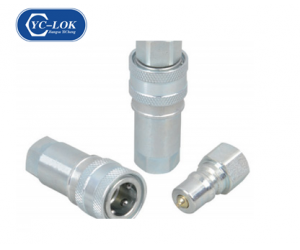 HZ-A3 CLOSE TYPE HYDRAULIC QUICK COUPLING (ISO7241-1A)