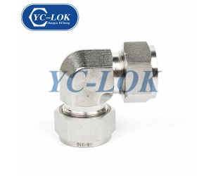 High Quality Good Price 3000PSI 90 Degree Male Forged Elbow Tube Adapter