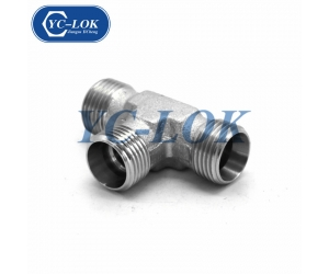 High quality 6000 psi metric straight hydraulic adapter fittings