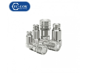 ISO Flat Face Hydraulic Quick Connect Coupler for Agriculture Industry