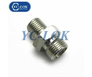 Male to male hydraulic adapter for promotion