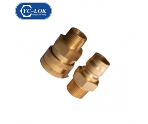 Non-Valve Brass Coupling for Water Transfering