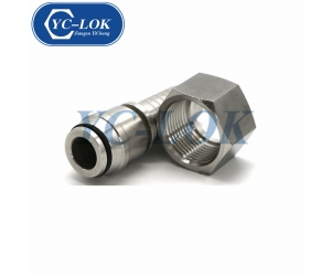 SUS 304 Metric female 24 cone hydraulic hose fittings