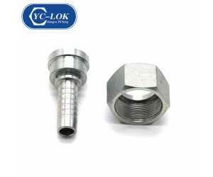 Shipping from China hydraulic Metric Female Flat Seat Hose Fitting (20211)