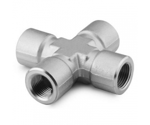Stainless Steel Pipe Fitting  Cross  14 in Female NPT