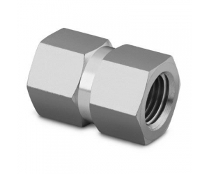 Stainless Steel Pipe Fitting  Hex Coupling 14 in Female NPT