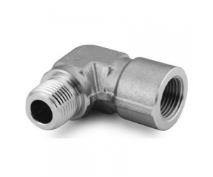 Stainless Steel Pipe Fitting  Street Elbow 14 in  Female NPT x 14 in Male NPT