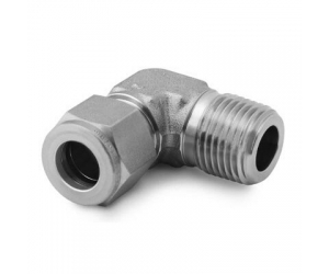 Stainless Steel Swagelok Tube Fitting  Male Elbow  12 in. Tube OD x 12 in  Male NPT