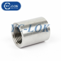 China Best Quality 1 Hex High Pressure Female Threaded Forged Ferrule factory