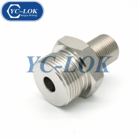China Chinese high quality stainless steel straight Metric reducer tube adapter factory