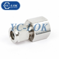 China Export Goods Stainless Forged Threaded NPT Coupling Pipe And Adapter factory