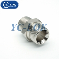 China Good quality JIC male cone BSP male o-ring tube fittings factory