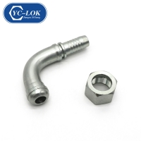 China Hydraulic Hose Fitting Nipple Pipe Quick Release Coupling factory