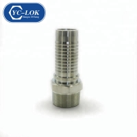 China Professional Factory YC-LOK Hydraulic NPT male hose fittings factory