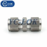 China Double cutting rings connector factory